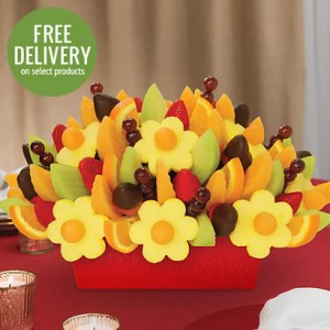 Fruit Festival with Dipped Strawberries from Edible Arrangements